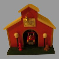 Smoke Gets in Your Eyes Fire House Music Box - b289