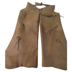 Spurs that Jingle Leather Chaps