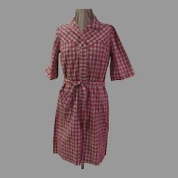 "Plaid ""Nancy Frock"" Dress"