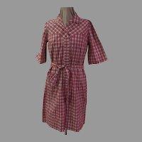 """Plaid """"Nancy Frock"""" Dress"""