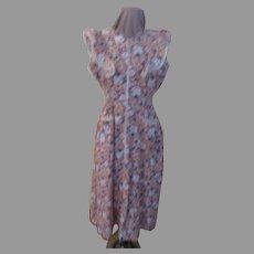 Ruffles Sleeve Zip Front Dress