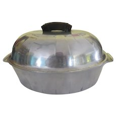 Household Institute Aluminum Roaster with Lid - g