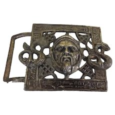 War Lord and serpents Levy Bros Belt Buckle - Free shipping