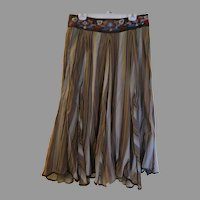 Beaded Waistband Skirt