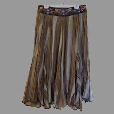 Beaded Waistband Skirt