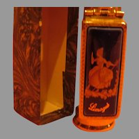 Brevite Limoges Lipstick Case with Mirror