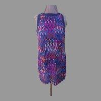 Go Go Girl Geometric Mini-Dress - b