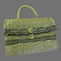 Roberta di Camerino  Woven Handbag/purse - b292
