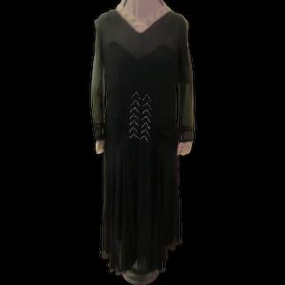 Chiffon and Lace 20's Dress