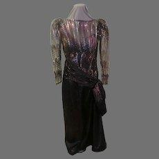 Sequin Mignon Anne Marie Gabalis Gown/dress