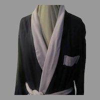 """Standard"" Navy Men's Robe"