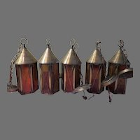 Castle Keep Lantern Light Fixtures - g