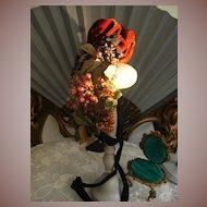 Fabulous Haute Couture Paris French antique Doll's hat.