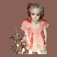 Beautiful little dress for your Jumeau or Bru doll from 34 cm or 13,4 inch.
