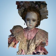 Beautiful adorable  French outfit,  for Jumeau,Steiner or other antique doll from 54cm. or 21.3 inch doll.