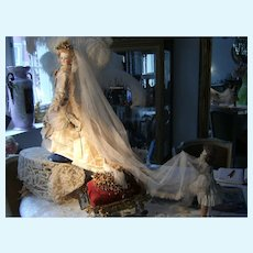 OMG...Her Imperial  highness Empress Sissy in her French Haute Couture  Bridal gown....