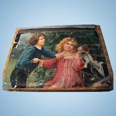 Victorian cube puzzle, with 6 performances.
