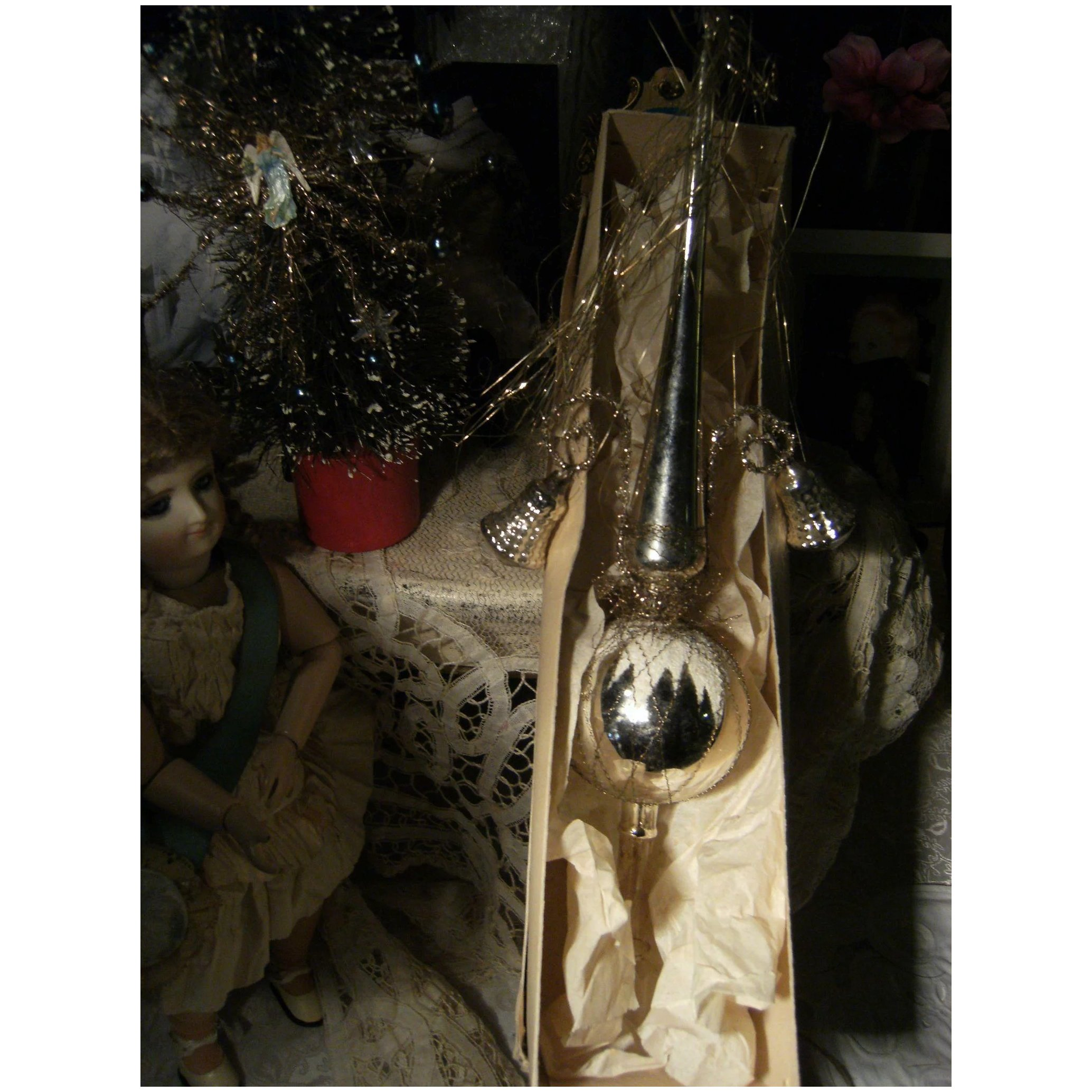 Antique Christmas Tree Topper For Your