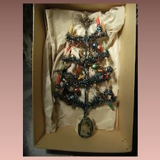 Beautiful little Christmas tree in original box