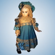 Beautiful French dress for your Jumeau antique doll, from 60cm or 23,6 ""