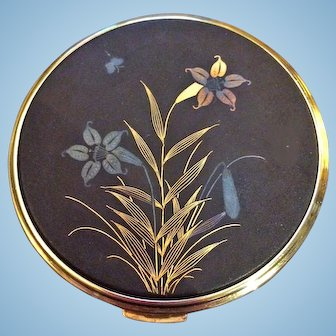 Vintage Japanese Damascene Compact Never Used