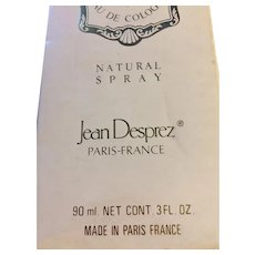 Bal a Versailles Jean Desprez Eau De Cologne Spray 3 oz in Sealed Original Box