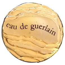 Rare Eau de Guerlain 1974 Unisex Citrus Eau de Toilette 4 OZ Splash Vintage