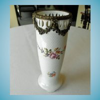 Porcelain Vase With Ormolu Mounts