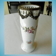 Porcelain Vase With Ormolu Mounts