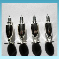 Stately Sterling Salt & Pepper Non Weighted 2 Sets Available