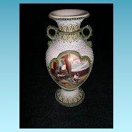 Gorgeous Satsuma and Enamel Work Vase