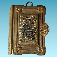 Adorable Victorian Book Charm or Fob