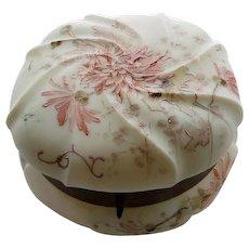 Super Large Wavecrest Dresser Jar or Box