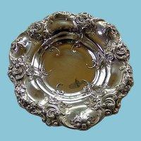 Gorham Sterling Art Nouveau Small Repousse Bowl Circa 1900