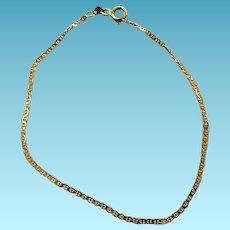 Vintage 14K Yellow Gold Bracelet