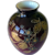 Harrach Bohemian Pigeon Blood Vase With Gold Enamel Work