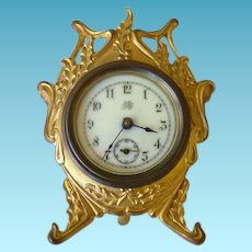 Adorable Jenning's Bros. Desk Clock 1894