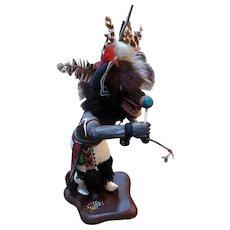 Black Ogre Kachina by Johnny Burgess