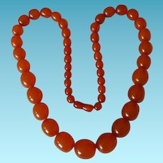 "Natural Honey Amber 24"" Necklace"