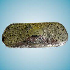 Antique TIFFANY Sterling Silver Eyeglass Case