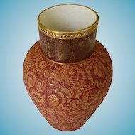 Antique Ridgway English Tapestry Vase