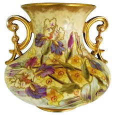 Antique Royal Bonn Two Handled Vase
