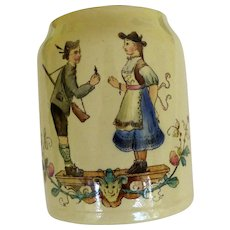 Adorable Villeroy & Boch Pub Stein 19th Century
