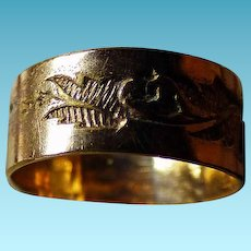 Victorian 9K Infant or Baby Ring