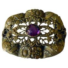 Lovely Art Nouveau Sash Pin