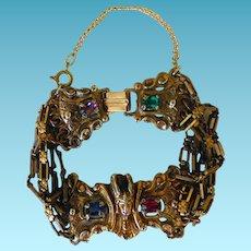 Athennic Arts Egyptian Revival Style Bracelet