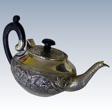 Sterling Teapot From India