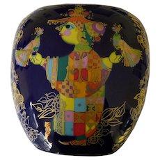 "Signed Bjorn Winblad Studio Line Rosenthal 8 1/2"" Vase"