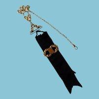 Victorian Pin/Brooch Ribbon Fob