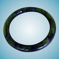 Vintage Jade Bangle Bracelet